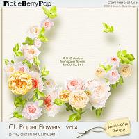 CU Paper Flowers Vol.4 (Jasmin-Olya Designs)