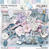 Winter Horizons, A Berry Blends Collab Kit