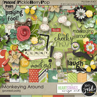 Monkeying Around ~ A Pickled Pairs Collab