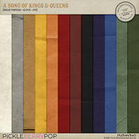 A Song Of Kings And Queens Solid Papers