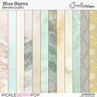 Blue Bayou-Blended paper