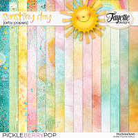 Sunshiny Day: Artsy Papers