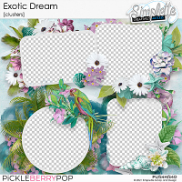 Exotic Dream (clusters) by Simplette