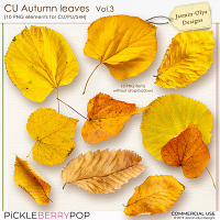 CU Autumn Leaves Vol.3 (Jasmin-Olya Designs)