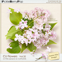 CU Flowers Vol.32 (Jasmin-Olya Designs)