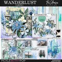 Wanderlust Bundle Plus Free Gift by TirAmisu design