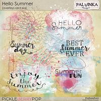 Hello Summer Overlays and WA