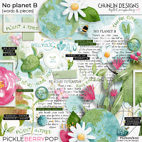 No planet B - words & pieces