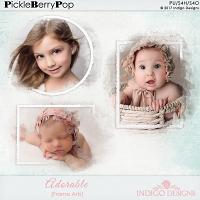 Adorable Frame Art by Indigo Designs
