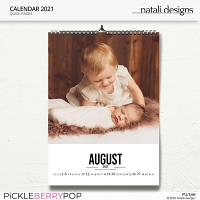 2021 Calendar White 2