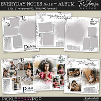 Everyday Notes June No.18 ~ Templates