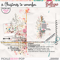 A CHRISTMAS TO REMEMBER | POP•iN PAGE KIT by Bellisae