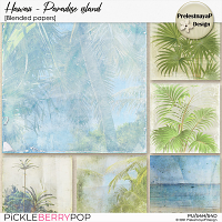 Hawaii: Paradise island Blended papers