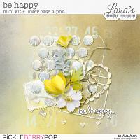 Be Happy Mini Kit by Lara's Digi World