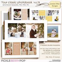 Your classic photobook Vol.78 (Jasmin-Olya Designs)
