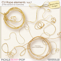 CU Rope elements Vol.7 (Jasmin-Olya Designs)