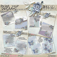 Paint Your Dreams: Template Bundle