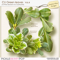 CU Green Leaves Vol.4 (Jasmin-Olya Designs)