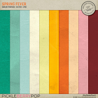 Spring Fever Solid Papers