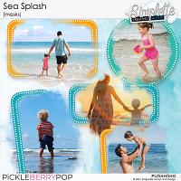 Sea Splash (masks) by Simplette