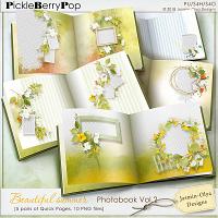 Beautiful summer - Photobook QPs Vol.2 (Jasmin-Olya Designs)