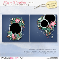 Play With Templates Vol.21 (Jasmin-Olya Designs)