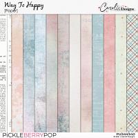 Way to Happy-Paper
