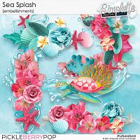 Sea Splash (embellishments) by Simplette