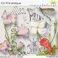 CU 974 ANTIQUE
