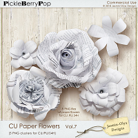 CU Paper Flowers Vol.7 (Jasmin-Olya Designs)