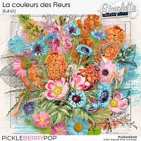 La couleur des Fleurs (full kit) by Simplette