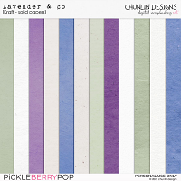 Lavender & co - solid papers