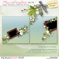 Play With Templates Vol.18 (Jasmin-Olya Designs)