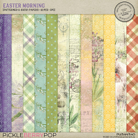 Easter Morning Patterned And Artsy Papers