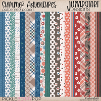 Summer Adventures {Patterned Papers}