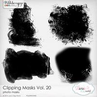 Clipping Masks Vol. 20