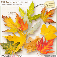CU Autumn Leaves Vol.2 (Jasmin-Olya Designs)