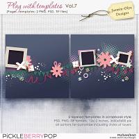 Play With Templates Vol.7 (Jasmin-Olya Designs)