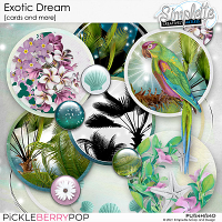Exotic Dream (cards) by Simplette
