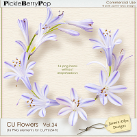 CU Flowers Vol.34 (Jasmin-Olya Designs)