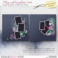 Play With Templates Vol.6 (Jasmin-Olya Designs)