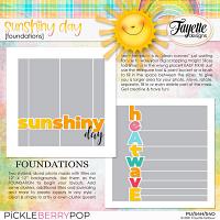 Sunshiny Day: Foundations