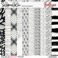 SHOPAHOLIC   extra papers by Bellisae
