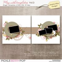 Play With Templates Vol.3 (Jasmin-Olya Designs)
