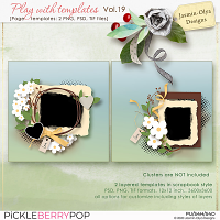 Play With Templates Vol.19 (Jasmin-Olya Designs)
