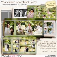 Your classic photobook Vol.72 (Jasmin-Olya Designs)