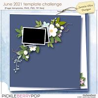 June 2021 Templates challenge (Jasmin-Olya Designs)