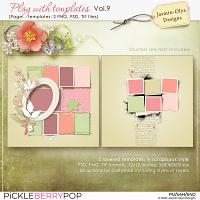 Play With Templates Vol.9 (Jasmin-Olya Designs)
