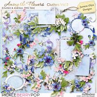 Among the flowers - Clusters Vol.2 (Jasmin-Olya Designs)