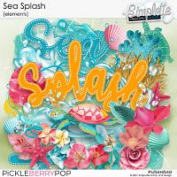 Sea Splash (elements) by Simplette